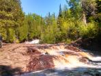 Temperance River and Cascade State Parks are both nearby, both offer dramatic hiking trails