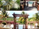 Large swimming pool & only 10 mins from the beach