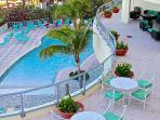 1BR Direct Ocean Front Beach Resort by The Hilton