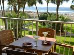 Enjoy the cool sea breeze and the sound of the waves while you relax on the balcony.
