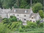 Looking down on Dove Cottage!