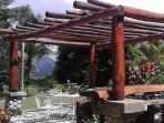 A chef's choice menu is available for dining at the Pergola of the freshest foods of Dominica!!