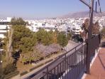 View towards Athens