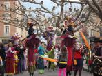 Carnavals and festivals throughout the year, this one is in Prades