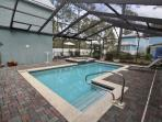 Private Heated Pool in Screen Enclosure
