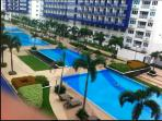 6 tropical themed outdoor pools. Open daily from 7 am to 10 PM