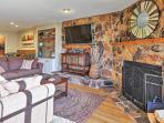 You'll feel right at home in the charming living area