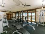 Exercise room at Amenity Center