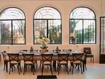 Inside dinning room