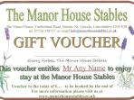 You can buy gift vouchers for your friends or family