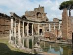 Villa Adriana in Tivoli, Romanic ruin. 1 hour drive from the apartment
