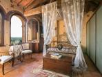 Double Room in top of the villa