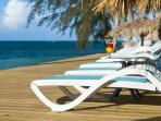 Our beach chairs