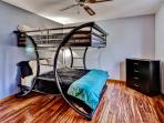The kids will love this modern bunk bed room!