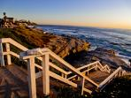 Windandea Beach, is walking distance from our property.
