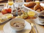 Normandy Getaways at Mis Harand - Continental breakfast