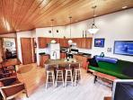 You'll love the open layout of the main living space!