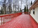 You'll be sure to spend plenty of time on the expansive back deck.
