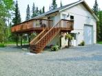 Have the ultimate Alaskan retreat at this Kasilof vacation rental apartment!