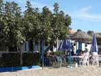 Beach Café Bar Chiringuito Arroya, great place open all day, right on the beach, centre of La Cala.