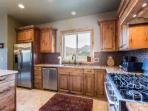 There is tons of counter space to prepare and serve friends and family and the counters are also nicely finished in a...