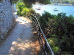Walk down to Uvala Lapad and enjoy the spectacular sea views.