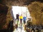 Le grotte di Montepiano e Majella