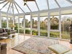 Most enjoyable passed time, lounging or having a drink in the conservatory
