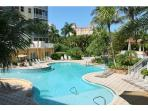 5 Star Amenities complete with fitness center, grills, baby pools and spas