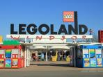 Legoland and Thorpe Park within 10 minuets drive from Pixie Place.