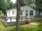 cottage #07 sleeps four persons.  . Free Park Pass. 2 full double size beds. Beach 5 min. walk