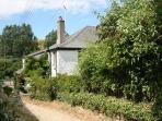 Lane to cottage
