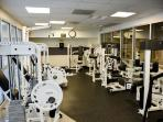 Round the clock fitness center
