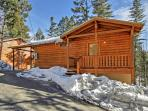 Escape to this Cloudcroft vacation rental cabin!