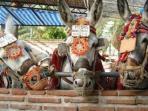 Donkey rides in Mijas Pueblo (village) white washed streets above La Cala, beautiful place to visit!