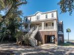 The Tabby House - Folly Beach, SC - 6 Beds BATHS: 5 Full 1 Half