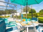 Have Meals  Out By The Pool/spa