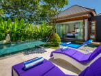 Relax by your private pool.