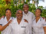 The warm staff of four work as a team and are cross-trained so no guest is ever without legendary Jamaican service and...
