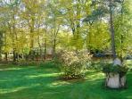 Domaine de Chantemerles : le Parc vers la Maison des Bois