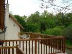 Maison des Bois : Terrasse 1er étage