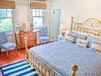 Master Bedroom with King bed and antiques. Spectacular ocean views and breezes!