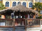 Tiki Bar that is open during the Beach Season