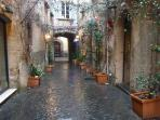 Quiet side streets invite you to explore the historic gems of Orvieto