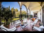 Fully furnished Covered Loggia