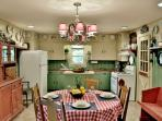 Fully functional kitchen to make your meals in.