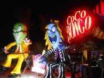 Coco Bongo next to San Juan Mall