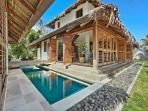 Villa with lap pool