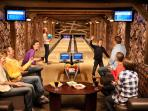 Reserve your private bowling alley - free with your stay at our townhouse
