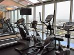 Cardio room on 9th floor